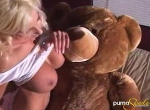 Puma Swede Have fun with hairy man