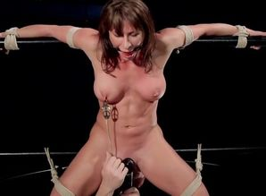 Ariel X - Roped and Dumping
