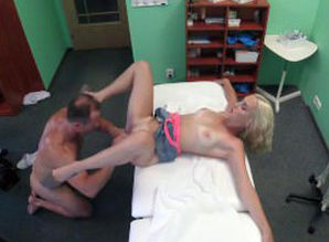 FakeHospital Lean blondie patient..