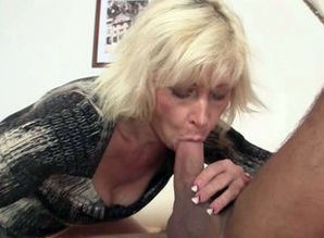 Platinum-blonde mom inlaw entices..