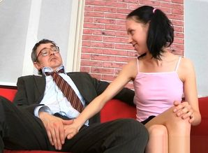 Threeway hookup with instructor