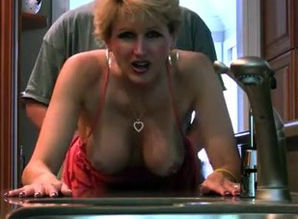 Horny mature mummy humping at home