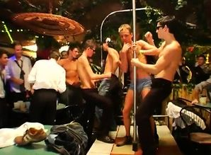 Bare group booties video homo Several..