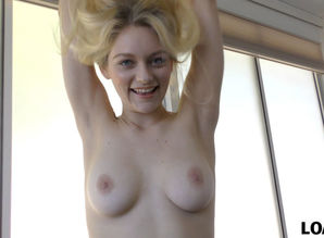 VIP4K. Pretty blond Allie Rae..