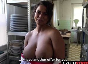 Cook with Massive Breasts