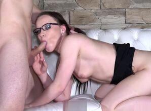 Wendy Moon inspecting newcummer who..