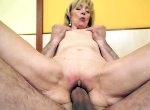Elder gal is sexually aroused to..