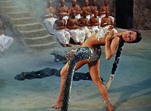 SNAKE DANCE - retro glamour dance..