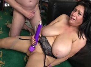 Mature UK gimp with massive  gets..